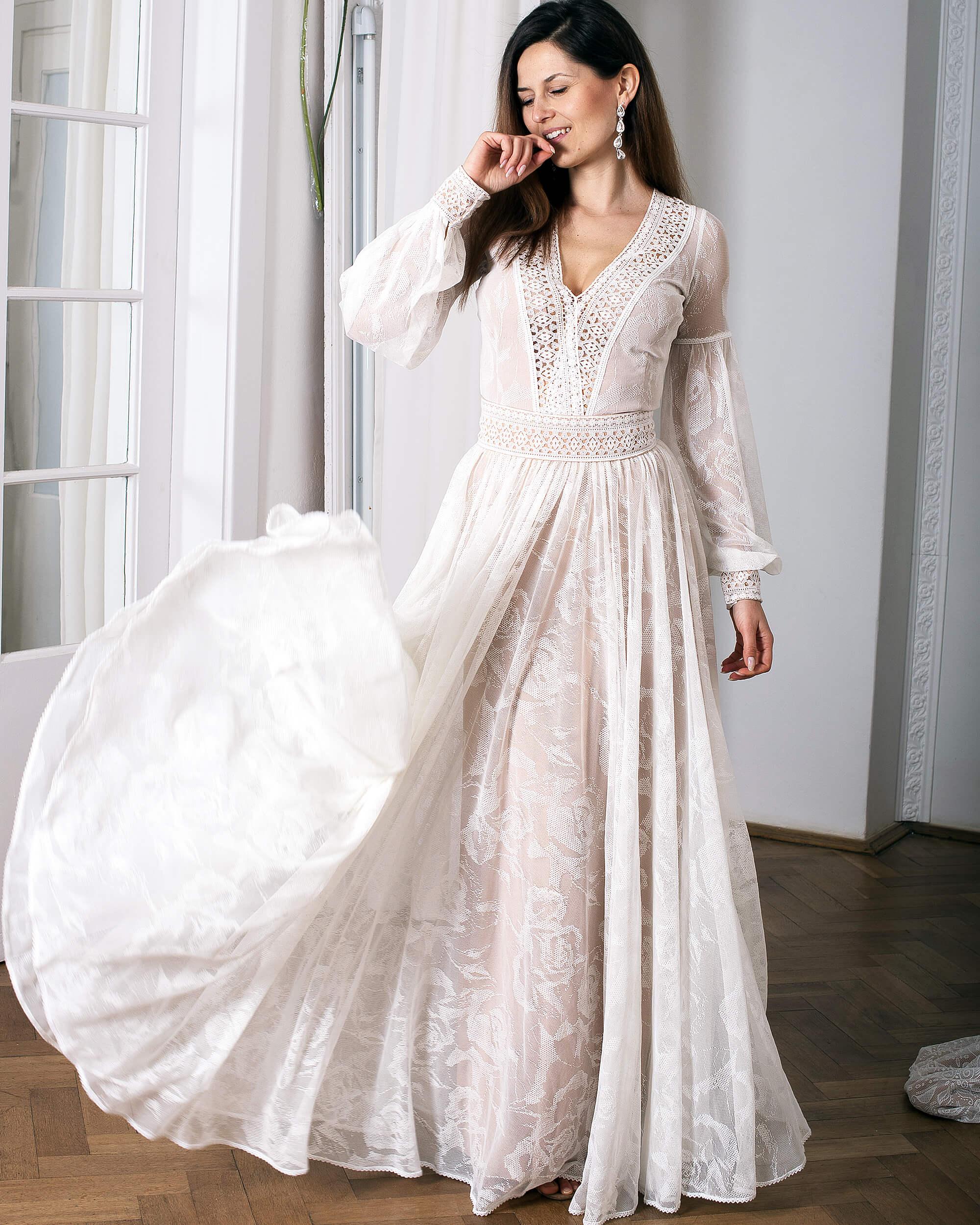 3 zalety indywidualnych projektów sukni ślubnych